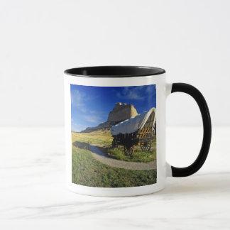 Conestoga wagon at Scottsbluff National Mug