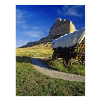 Conestoga wagon at Scottsbluff National Postcards