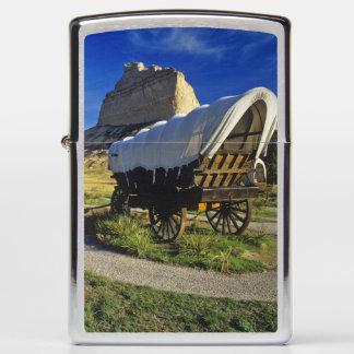 Conestoga wagon at Scottsbluff National Zippo Lighter