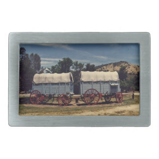 Conestoga Wagons belt buckle rectangle