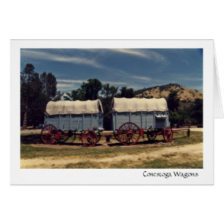 Conestoga Wagons Card