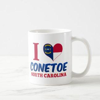 Conetoe, Carolina del Norte Taza Básica Blanca