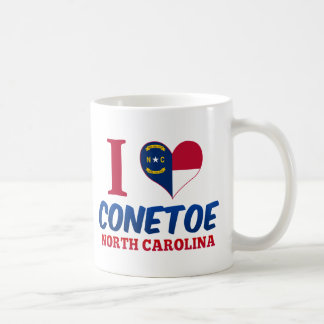 Conetoe, North Carolina Coffee Mugs