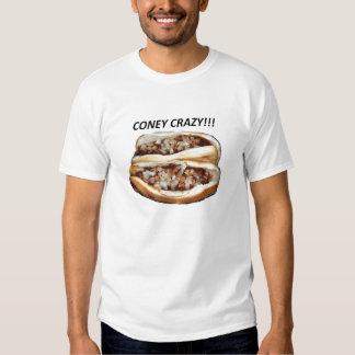 coney crazy tee shirt