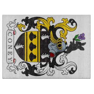 Coney Family Crest Cutting Board