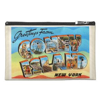 Coney Island #2 New York NY Old Travel Souvenir Travel Accessory Bag