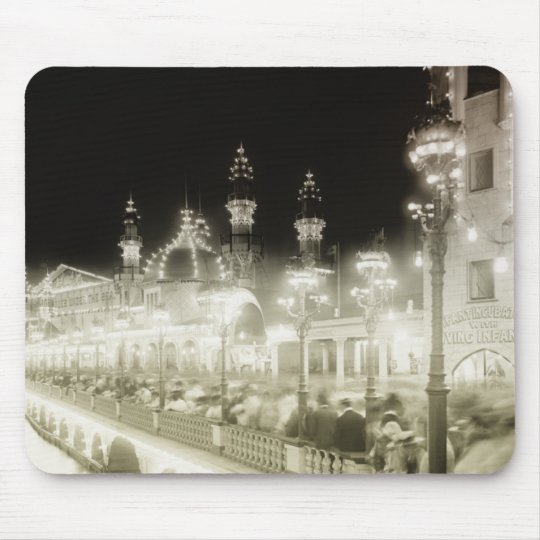Coney Island Amusement Park Mouse Pad
