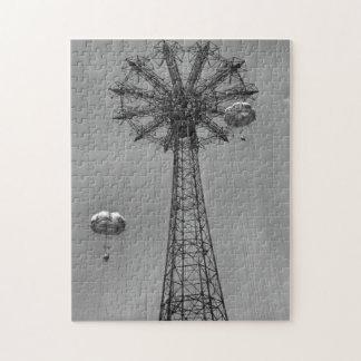 Coney Island Amusement Park Ride Jigsaw Puzzles