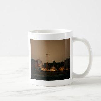 Coney Island at Night Classic White Coffee Mug
