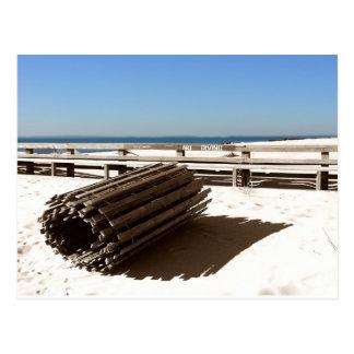 Coney Island Beach, NY Postcard