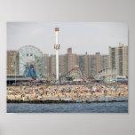 Coney Island Beach Posters