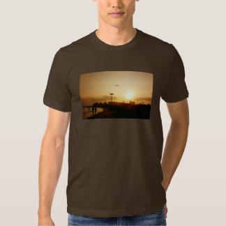 Coney Island Beach Sunset Tshirt