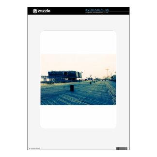 Coney Island Boardwalk Decal For iPad