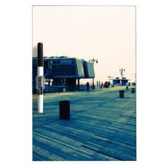 Coney Island Boardwalk Dry Erase Board