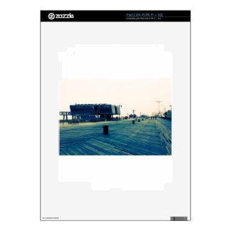 Coney Island Boardwalk iPad 2 Skins
