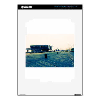Coney Island Boardwalk iPad 3 Skin
