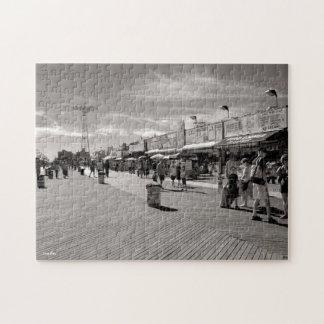 Coney Island Boardwalk Jigsaw Puzzle