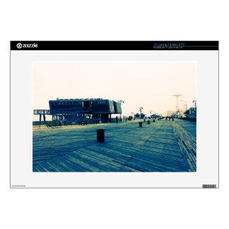 Coney Island Boardwalk Laptop Decal