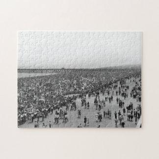 Coney Island Brighton Beach Jigsaw Puzzle