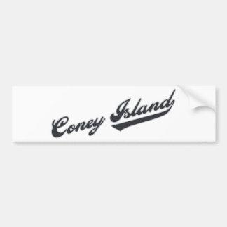 Coney Island Car Bumper Sticker