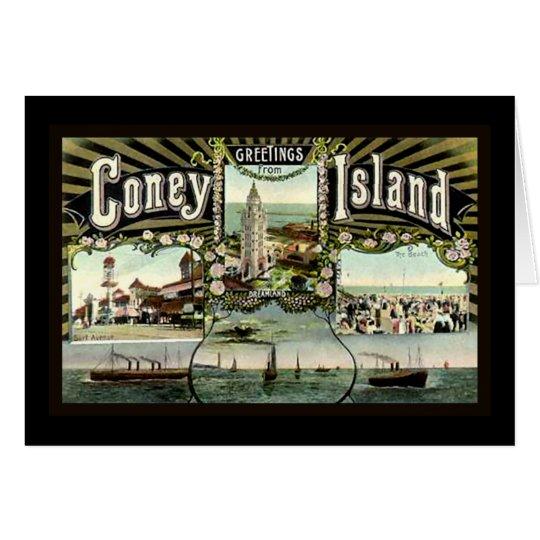 Coney Island Card
