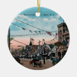 Coney Island Ceramic Ornament