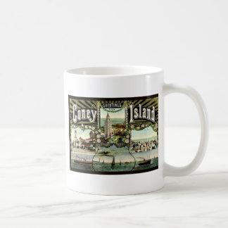 Coney Island Classic White Coffee Mug