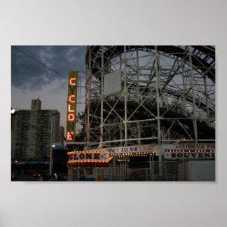 Coney Island Cyclone Poster