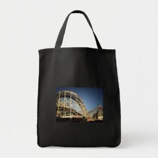Coney Island Cyclone Roller Coaster, Brooklyn Bag