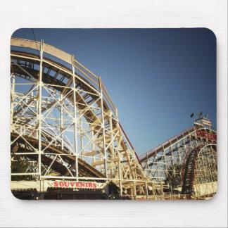 Coney Island Cyclone Roller Coaster, Brooklyn Mousepad