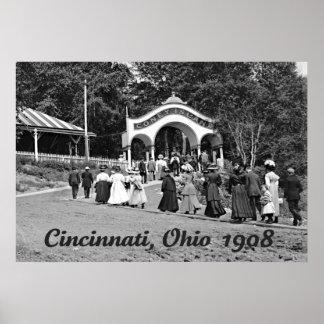 Coney Island en Cincinnati 1908 Posters
