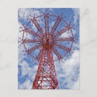 Coney Island II Postcard postcard