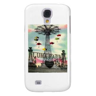 Coney Island Luna Park Amusement park Brooklyn ny Galaxy S4 Cover