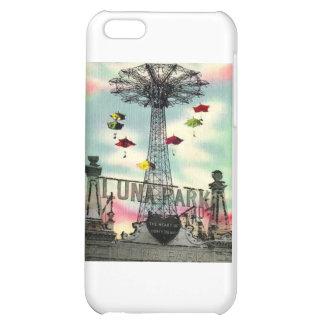 Coney Island Luna Park Amusement park Brooklyn ny Cover For iPhone 5C