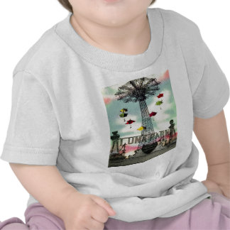 Coney Island Luna Park Amusement park Brooklyn ny Tee Shirt