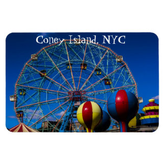 Coney Island New York City Photo Magnet