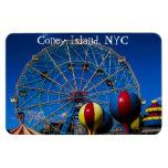 Coney Island New York City Photo Magnets