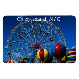 Coney Island New York City Photo Rectangular Photo Magnet