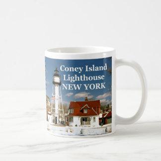 Coney Island, New York Lighthouse Mug