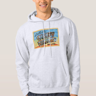 Coney Island New York NY Vintage Travel Postcard - Hoodie