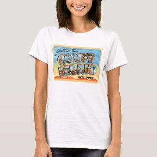 Coney Island New York NY Vintage Travel Postcard - T-Shirt