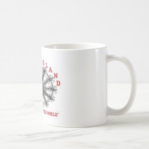 Coney Island New York - Playground of the World Coffee Mug