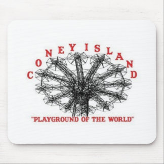 Coney Island New York - Playground of the World Mouse Pad