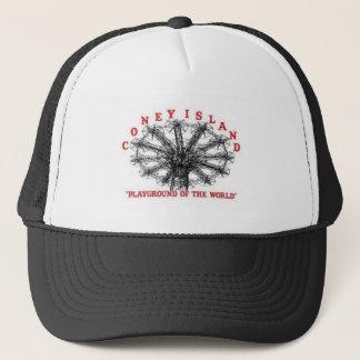 Coney Island New York - Playground of the World Trucker Hat