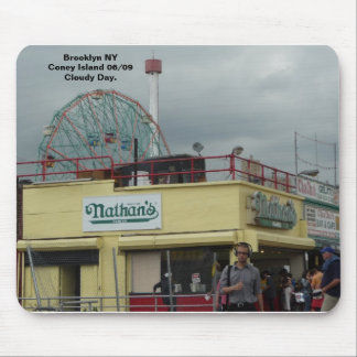 Coney Island NY by Nathan's Mousepads