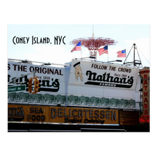 Coney Island, NYC Postcard