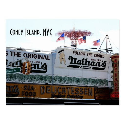 Coney Island, NYC Postcards