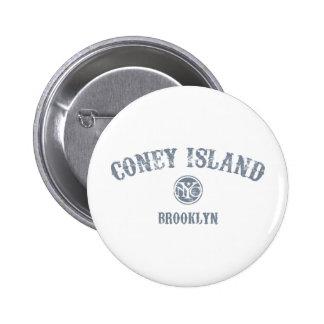 Coney Island Pinback Button