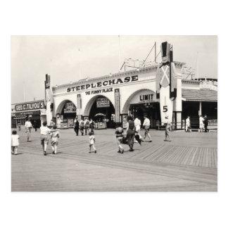 Coney Island Postcard
