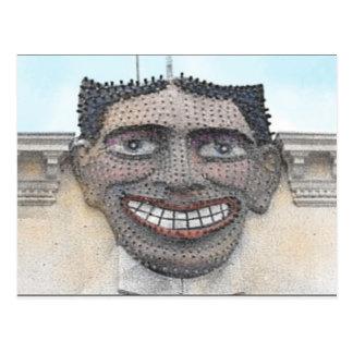 """""""Coney Island que hace muecas postal de la cara"""""""